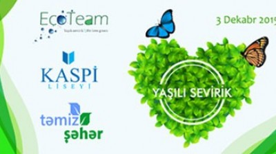 """Kaspi"" Lyceum and ""Tamiz Shahar"" JSC start cooperation in waste recycling December 3rd, 2015"