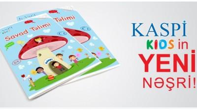 """KASPİ KİDS - in yeni nəşri """"Savad Təlimi"""" işıq üzü gördü!!!"""