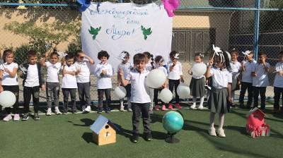 Kaspi Liseyi Beynəlxalq Sülh Gününü qeyd etdi