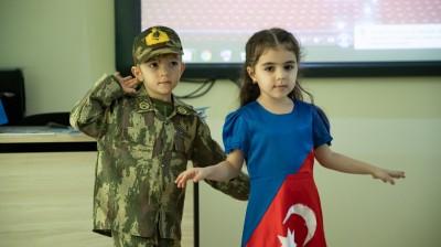 """Kaspi KİDS-in """"Qarabağ Azərbaycandır!"""" töhfəsi"""