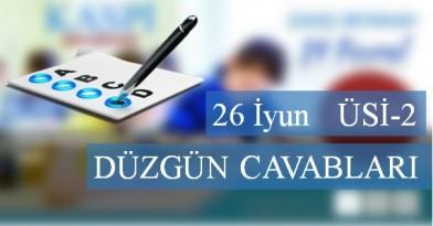 26 İyun  ÜSİ - 2