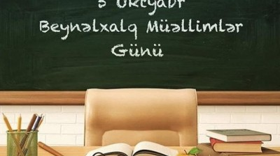 """Ulu Öndər Heydər Əliyev: """"Mən yer üzündə müəllimdən yüksək ad tanımıram"""""""