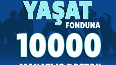 """Kaspi Təhsil Şirkəti """"YAŞAT"""" Fonduna 10.000 manat ianə etdi"""