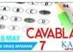 Mövzu Sınaq İmtahanı 7 - 28 May 2017 - Cavablar