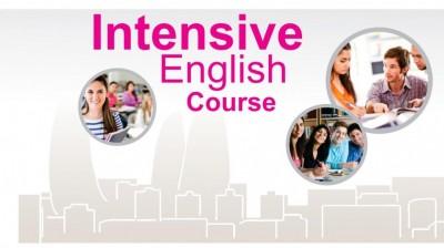 İntensiv ingilis dili kurslarına qeydiyyat davam edir!