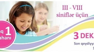 III - VIII sinif 3 dekabr 2017