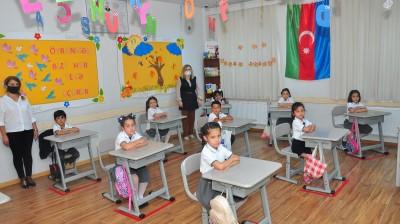 Kaspi Liseyi Bakıxanov filialı yeni tədris ilinə başladı