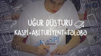 """""""Kaspi"""" abituriyent kurslarına qeydiyyat başladı"""