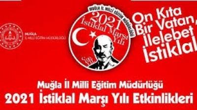 """Kaspi Liseylərinin şagirdləri """"İstiqlal Marşı""""nı səsləndirdi"""
