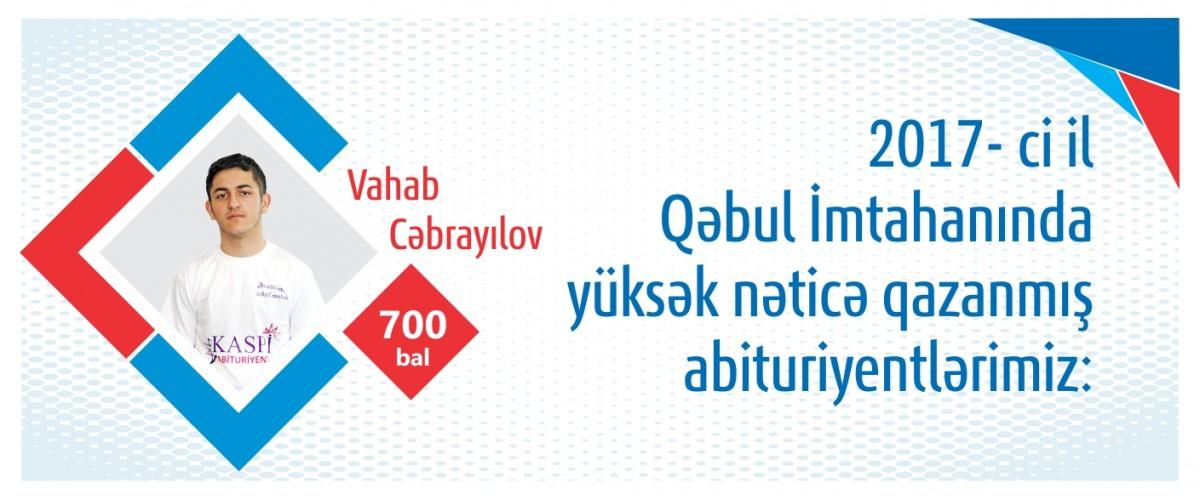 2017-ci il Qəbul İmtahanında yüksək nəticə göstərmiş abituriyentlərimizi təbrik edirik!
