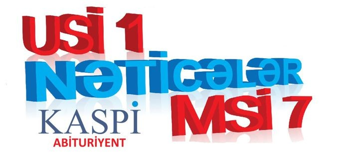 Nəticələr - ÜSİ 1 və MSİ 7 - 10 May